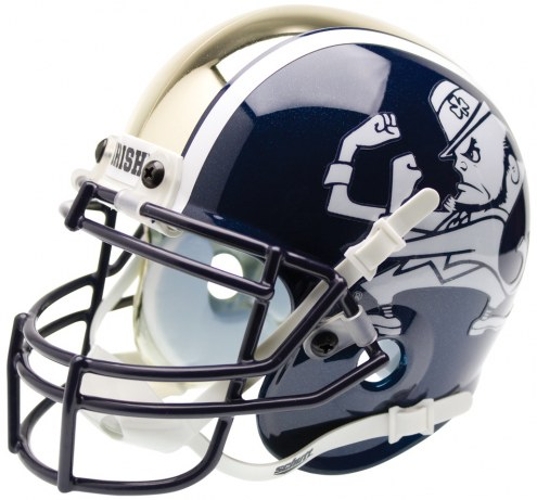 Notre Dame Fighting Irish Alternate 1 Schutt Mini Football Helmet
