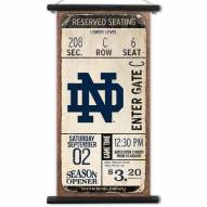 Notre Dame Fighting Irish Kickoff Printed Canvas Banner