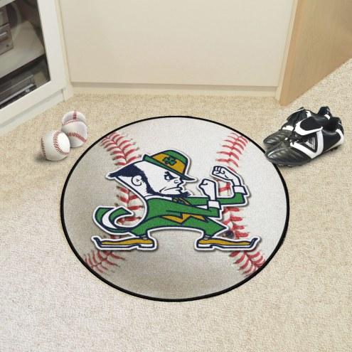 Notre Dame Fighting Irish Baseball Rug
