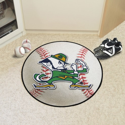 Notre Dame Fighting Irish Baseball Rug