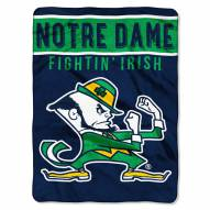 Notre Dame Fighting Irish Basic Raschel Blanket