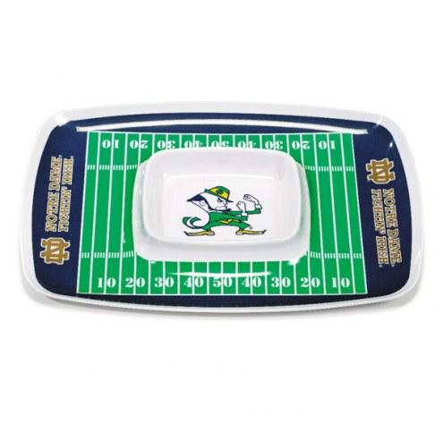 Notre Dame Fighting Irish Chip & Dip Tray