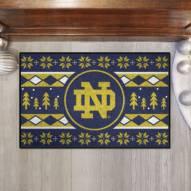 Notre Dame Fighting Irish Christmas Sweater Starter Rug
