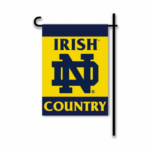 Notre Dame Fighting Irish Country Garden Flag