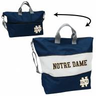 Notre Dame Fighting Irish Crosshatch Expandable Tote