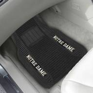 Notre Dame Fighting Irish Deluxe Car Floor Mat Set
