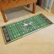 Notre Dame Fighting Irish Football Field Runner Rug