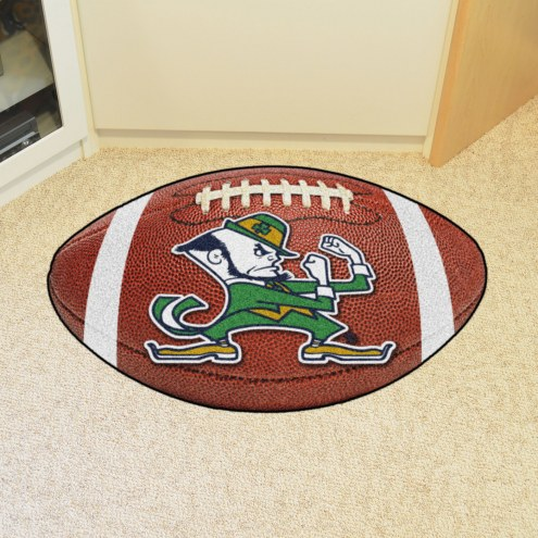 Notre Dame Fighting Irish Football Floor Mat