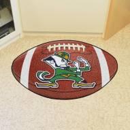Notre Dame Fighting Irish Football Floor Mat