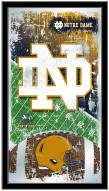 Notre Dame Fighting Irish Football Mirror