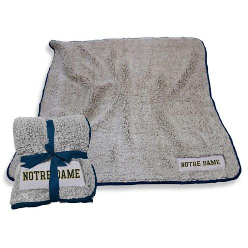Notre Dame Fighting Irish Frosty Fleece Blanket