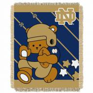 Notre Dame Fighting Irish Fullback Baby Blanket