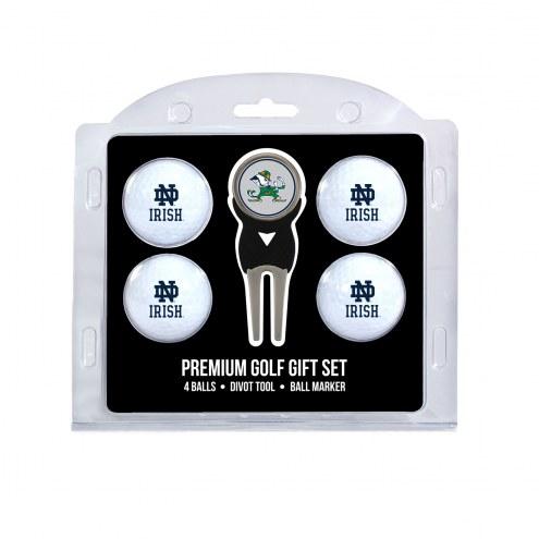 Notre Dame Fighting Irish Golf Ball Gift Set