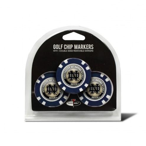 Notre Dame Fighting Irish Golf Chip Ball Markers