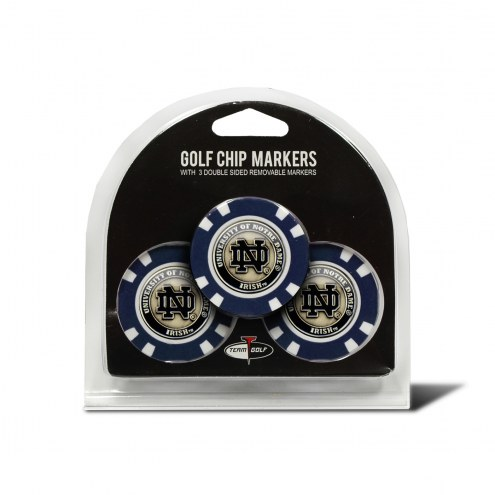 Notre Dame Fighting Irish Golf Chip Ball Markers