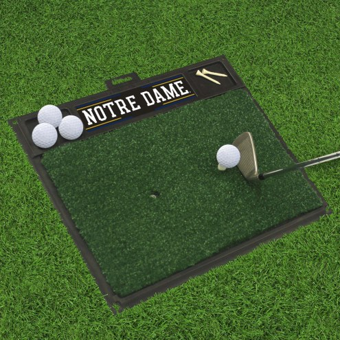 Notre Dame Fighting Irish Golf Hitting Mat