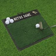 Notre Dame Fighting Irish Golf Hitting Mat