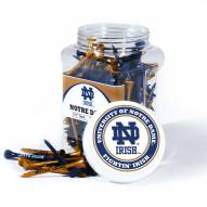 Notre Dame Fighting Irish 175 Golf Tee Jar