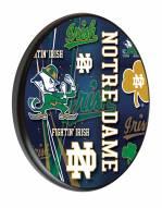 Notre Dame Fighting Irish Digitally Printed Wood Sign