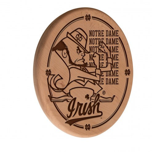 Notre Dame Fighting Irish Laser Engraved Wood Sign