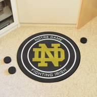 Notre Dame Fighting Irish Hockey Puck Mat