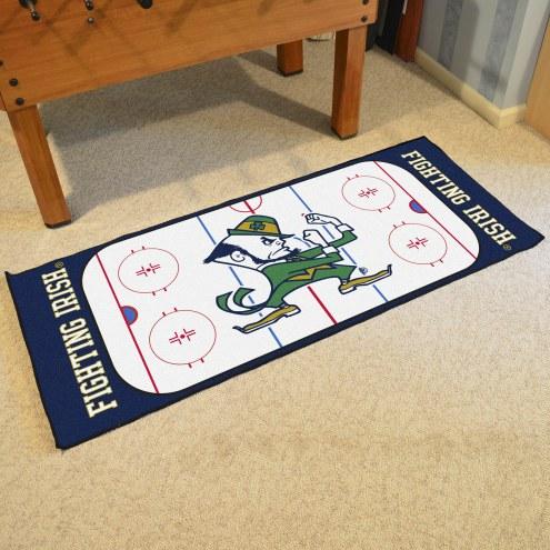 Notre Dame Fighting Irish Hockey Rink Runner Mat