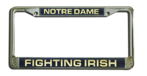 Notre Dame Fighting Irish Laser Cut License Plate Frame