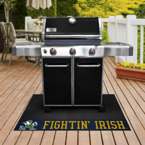Notre Dame Fighting Irish Leprechaun Grill Mat