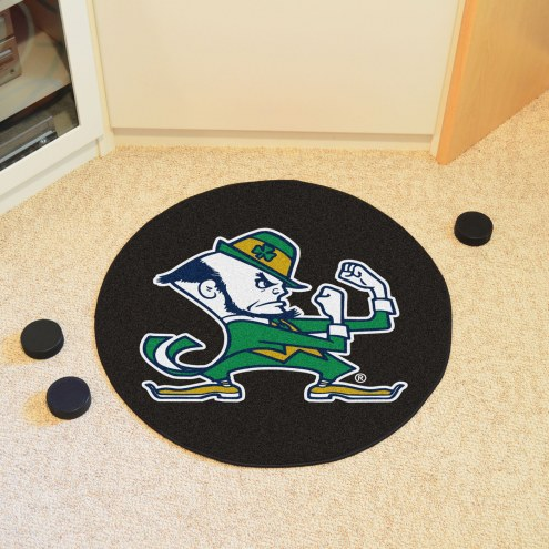 Notre Dame Fighting Irish Leprechaun Hockey Puck Mat