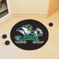 Notre Dame Fighting Irish Leprechaun Hockey Puck Mat