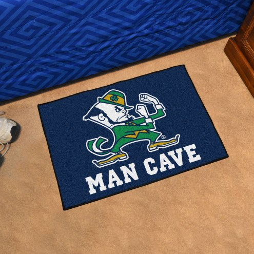 Notre Dame Fighting Irish Leprechaun Man Cave Starter Mat
