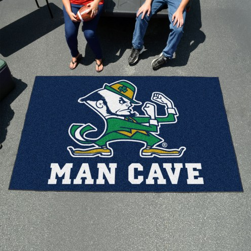 Notre Dame Fighting Irish Leprechaun Man Cave Ulti-Mat Rug