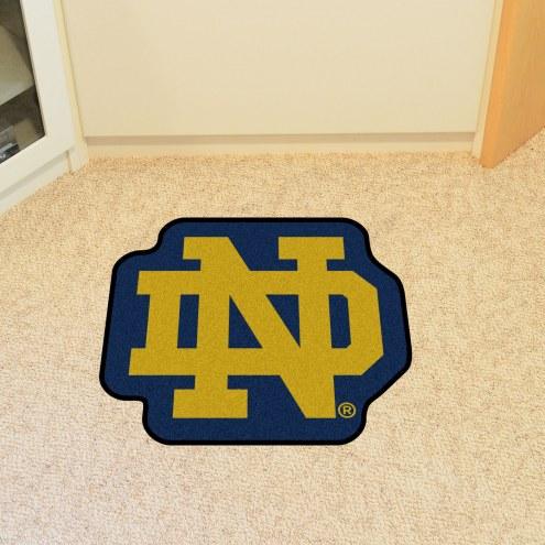 Notre Dame Fighting Irish Leprechaun Mascot Mat
