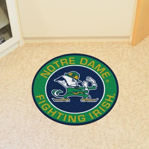 Notre Dame Fighting Irish Leprechaun Rounded Mat