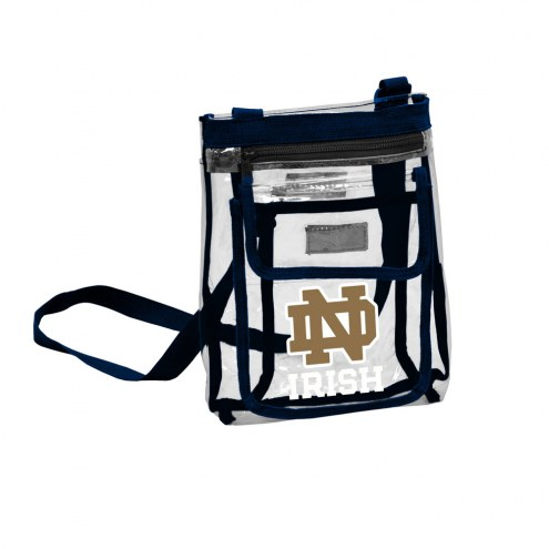 Notre Dame Fighting Irish Gameday Clear Crossbody Tote