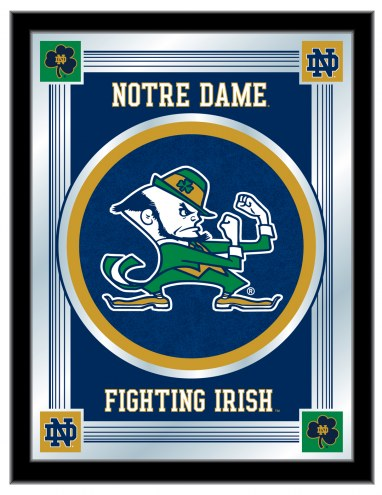 Notre Dame Fighting Irish Logo Mirror