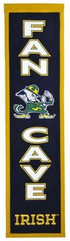 Notre Dame Fighting Irish Man Cave Banner