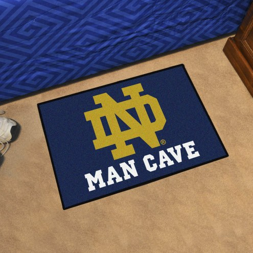 Notre Dame Fighting Irish Man Cave Starter Mat