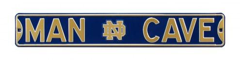 Notre Dame Fighting Irish Man Cave Street Sign