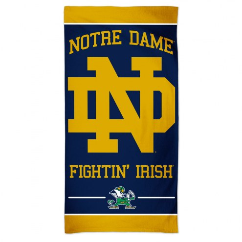 Notre Dame Fighting Irish McArthur Beach Towel