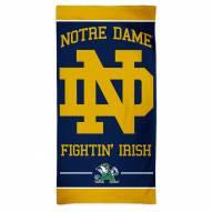 Notre Dame Fighting Irish McArthur Beach Towel