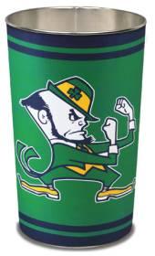 Notre Dame Fighting Irish Metal Wastebasket