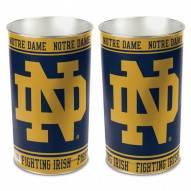Notre Dame Fighting Irish NCAA Metal Wastebasket