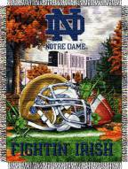Notre Dame Fighting Irish NCAA Woven Tapestry Throw / Blanket