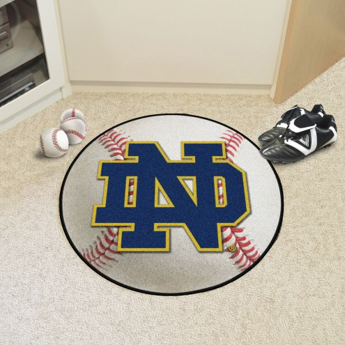 "Notre Dame Fighting Irish ""ND"" Baseball Rug"