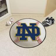 """Notre Dame Fighting Irish """"ND"""" Baseball Rug"""