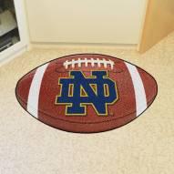 "Notre Dame Fighting Irish ""ND"" Football Floor Mat"