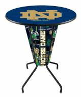 Notre Dame Fighting Irish Indoor Lighted Pub Table