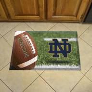 Notre Dame Fighting Irish ND Scraper Door Mat