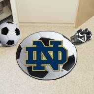"Notre Dame Fighting Irish ""ND"" Soccer Ball Mat"